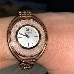 Swarovski modern crystal watch